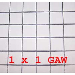 "Wire Mesh 25x25mm Holes 12G (1""x 1"" inch) 48""High (4FT) 33 Meters Galvanised"