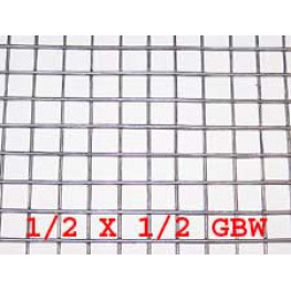 "Wire Mesh 13x13mm Holes 19G (1/2""x 1/2"" inch) 36""High (3FT) 30 Meters Galvanised"