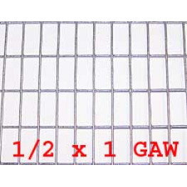 "Wire Mesh 13x25mm Holes 16G (1/2""x 1"" inch) 36""High (3FT) 12.5 Meters Galvanised"