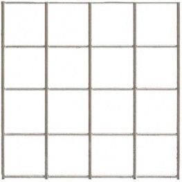 "Wire Mesh 50x50mm Holes 12G (2""x 2"" inch) 36""High (3FT) 12.5 Meters Galvanised"