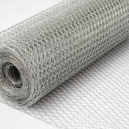 4FT Chicken Wire Fencing 1200mm 1 inch hole 50 meter roll GALVANISED